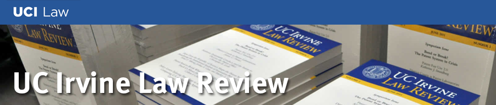 UC Irvine Law Review